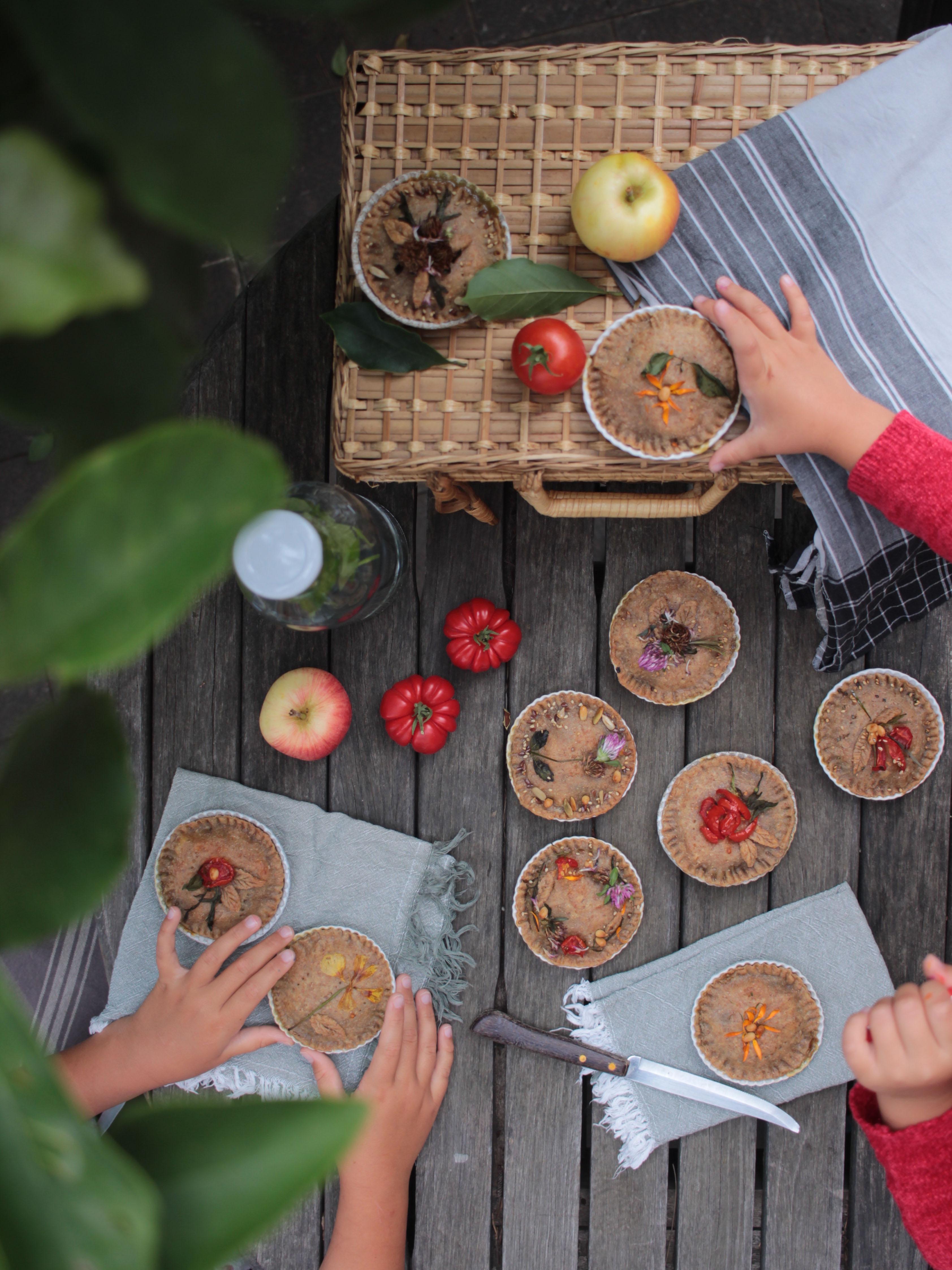 picnic con bambini