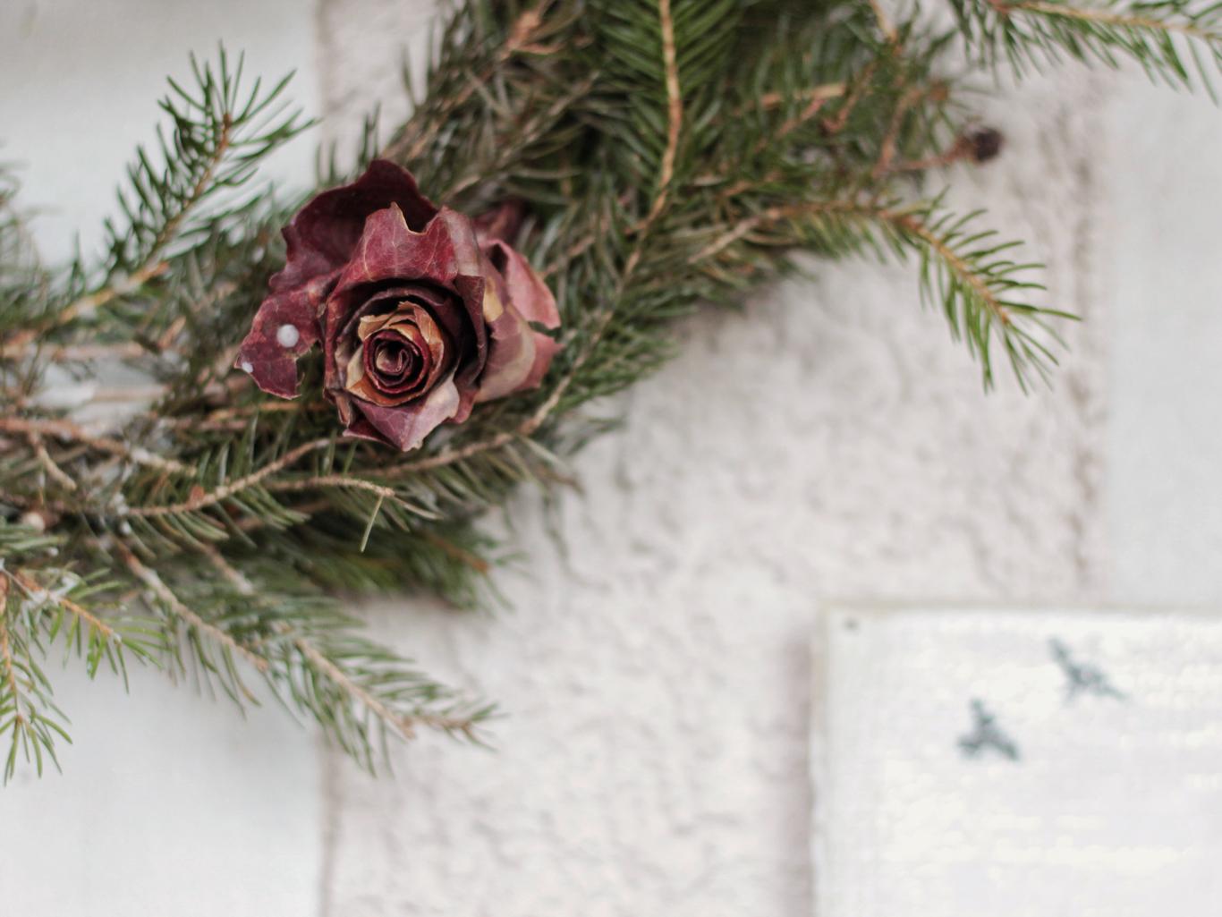 roselline di foglie